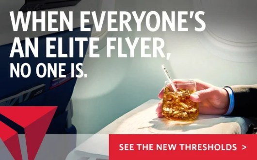 Delta is increasing the Medallion Qualifying Dollar thresholds.