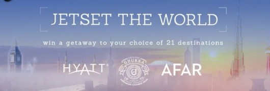 Win a five night getaway in a Hyatt property