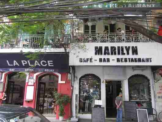 Try some traditional Vietnamese iced coffee at Marilyn