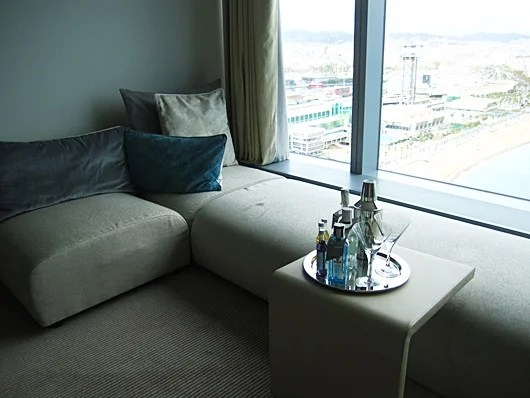 Lounge on the couch as you enjoy that view