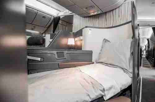 Lie-flat seats in China Airlines