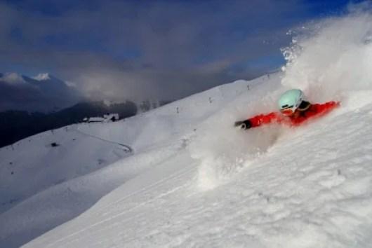 Ski for free at Alyeska when presenting your Alaska Air boarding pass