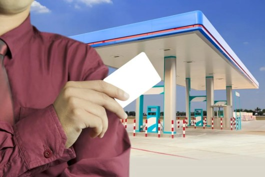 Gas station credit card
