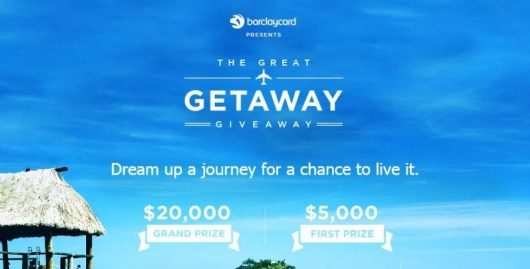 Win 5K or 20K from Barclaycard