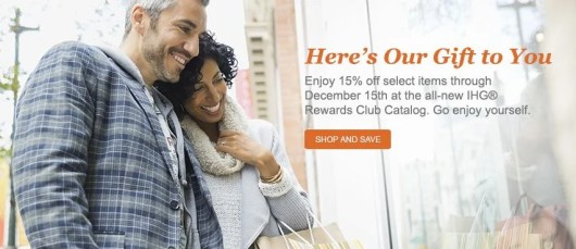 The new IHG Rewards catalog