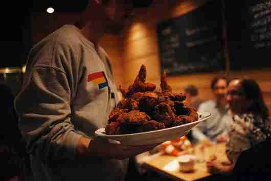 The Southern and Korean-style fried chicken available with advance order at Momofuku.