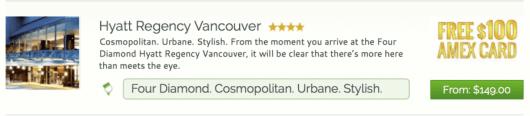 Stay at the Hyatt Regency Vancouver