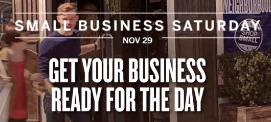 Register your Amex now for Small Business Saturday
