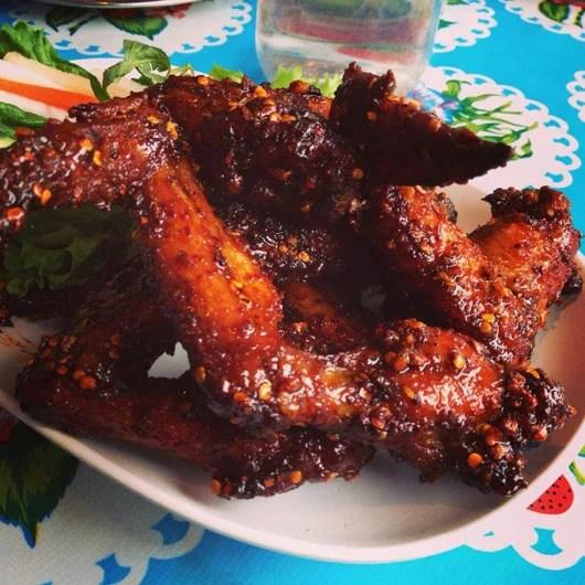 Pok Pok's Vietnamese-style chicken wings.