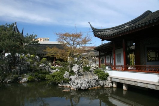 The Chinese Gardens, Chinatown, Vancouver. Photo courtesy of Shutterstock.
