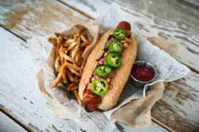 Urban Crave brings made-to-order street food - like this Sonoran Hot Dog - to Houston