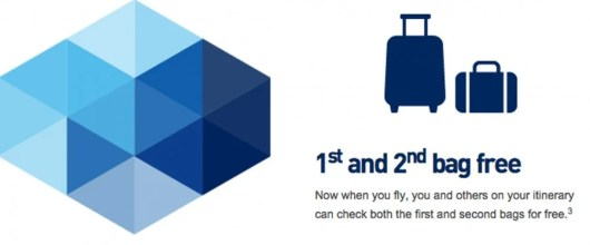 JetBlue's TrueBlue Mosaic loyalty program allows you to check your first and second bags for free.
