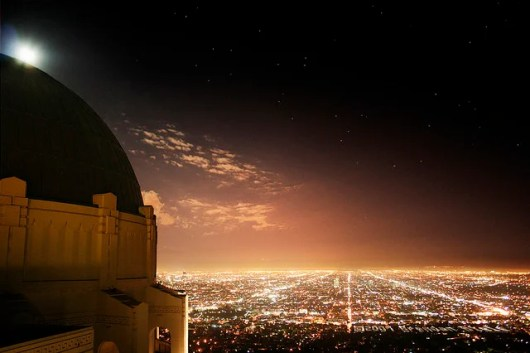 The view from L.A.'s Griffith Observatory is a celebration unto itself (Photo by Brendan Biele/Flickr)