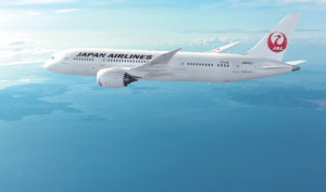 JAL will start 787 service from JFK to Narita in January.
