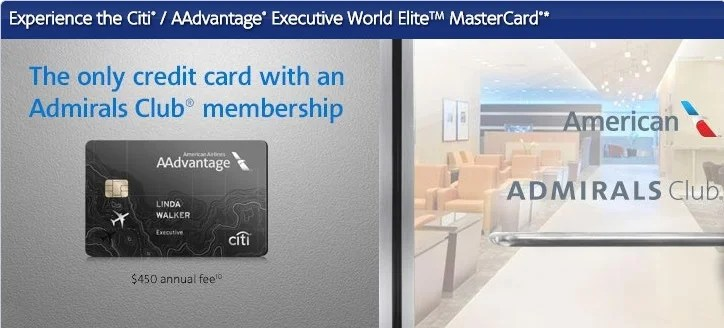 The Citi / Executive AAdvantage card offers many benefits beyond Admirals Club membership.