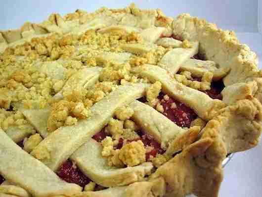 The cherry pie at Fireman Derek