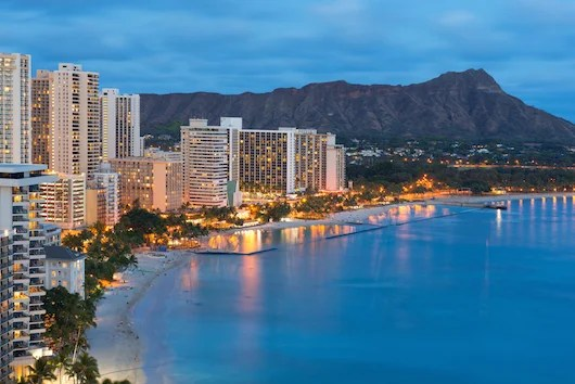 The shores of Honolulu. Photo courtesy Shutterstock.