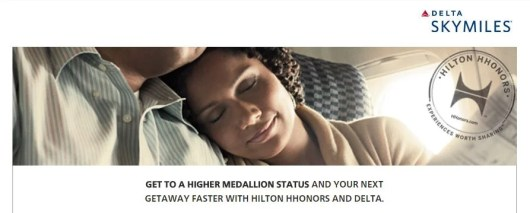 Earn those last minute Delta MQMs with a Hilton  stay