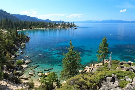 Crystal clear Lake Tahoe. Photo courtesy Shutterstock.