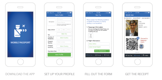 Setting up a profile in Mobile Passport takes five minutes, and so does adding customs declaration info for each new trip.