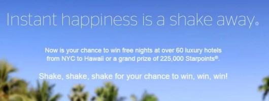 Shake the globe and win free nights