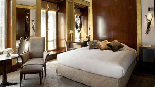 January through early March, the Park Hyatt Paris has lots of award availability for