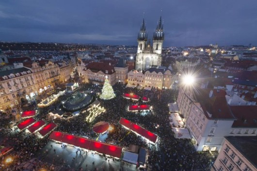 Prague's main Christmas market