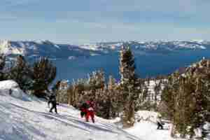 Lake Tahoe provides more family fun than just skiing (Image courtesy of Shutterstock)