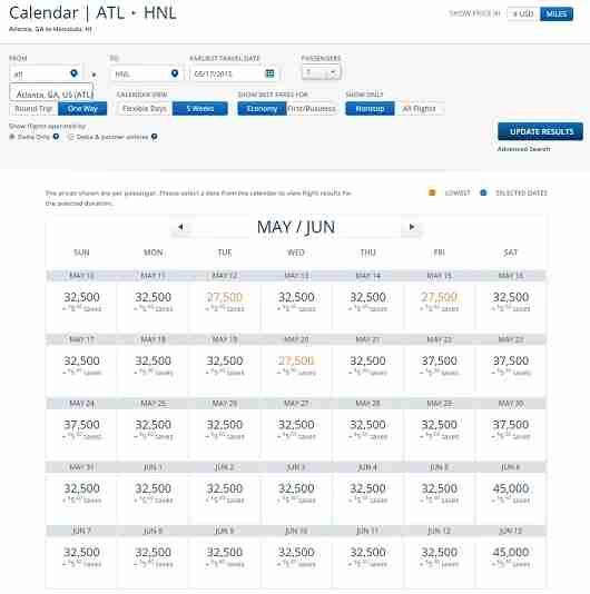 ATL-HNL Econ May June 15