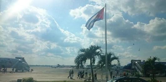 The Havana Airport boarding process