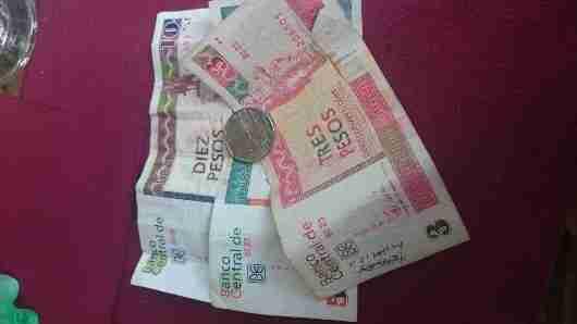 Some Cuban Convertible Pesos CUC