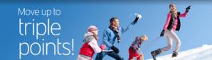 Get double & triple points for Hertz rentals