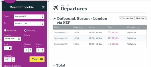 Score a flight from Boston to London for just $205 one-way.