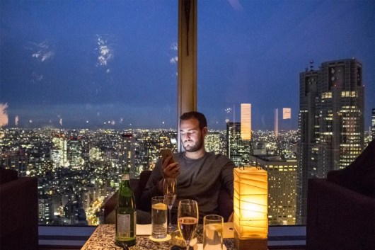 Tokyo's skyscraper-hotel bars bring new meaning to the concept of drinks with a view.