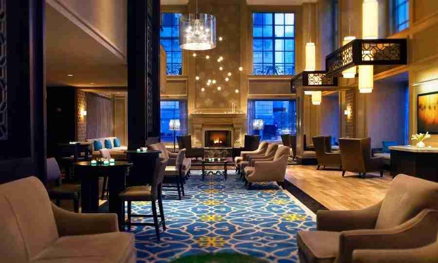 The Beautiful Hilton Chicago Hotel