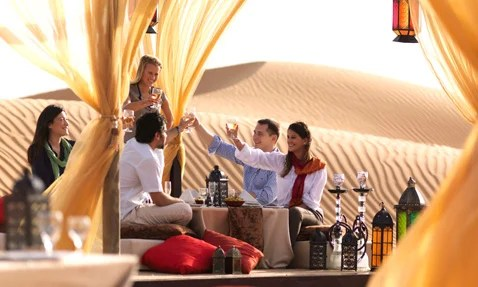 Tour company Arabian Adventures is just one provider of Dubai-area sand safaris.