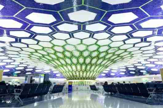 Abu Dhabi International Airport, the hub for Etihad. Photo courtesy of Shutterstock.