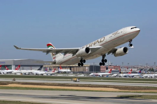 Etihad is offering 2X or 3X bonus miles for flying Business or First class