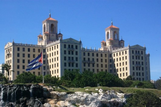 The historical and famous Hotel Nacional. Photo courtesy of Shutterstock.