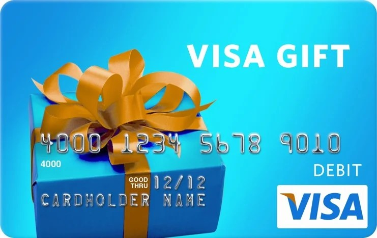 Thursday Giveaway: Win a $13 Visa Gift Card