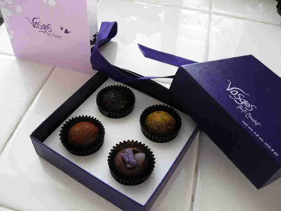 Vosges chocolate, a locally-made treat (Photo courtesy of Roxanna Salceda on Flickr)