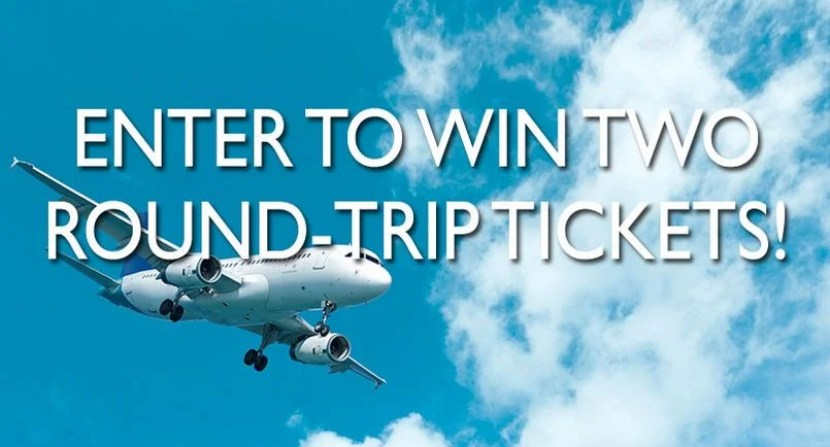 Win roundtrip airfare to anywhere in the continental U.S.