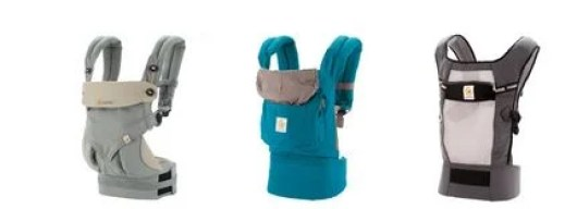 Some of the Ergo style baby carriers