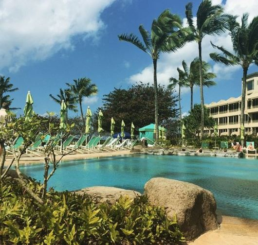 We chose to forgo an excursion one day and simply chill by the St. Regis pool