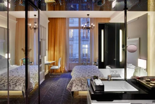 The W Paris Opera is one of the properties moving down a category.