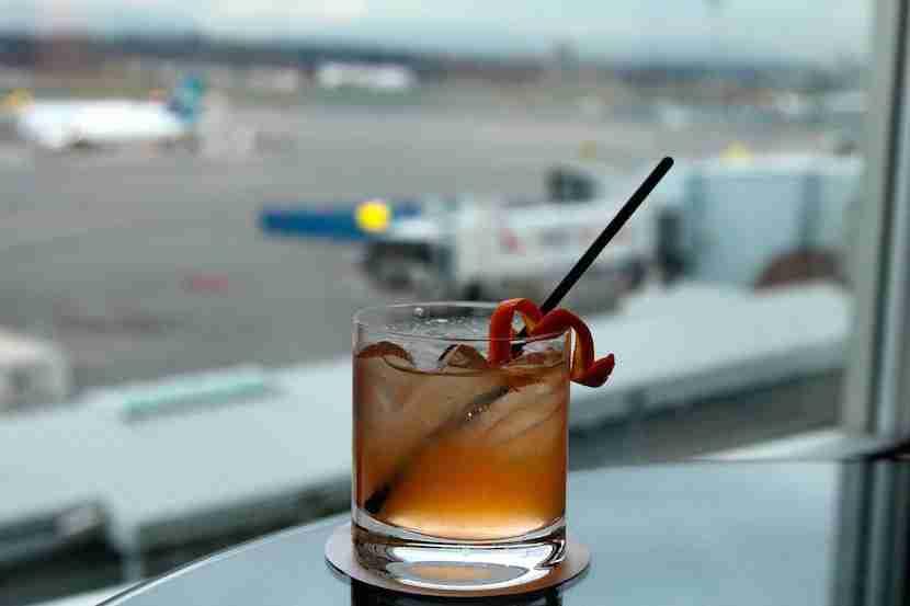 Célibataire cocktail at the Fairmont YVR