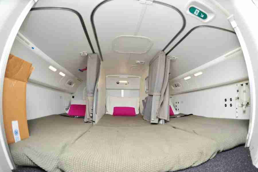 Crew bunks are a good place to indulge in some nookie—IF you
