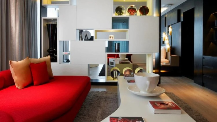 Whimsical touches in a WOW suite at the W London – Leicester Square