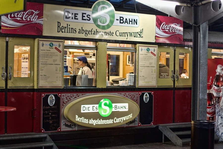 EsS-Bahn currywurst (photo courtesy of Mundus Gregorius on Flickr)