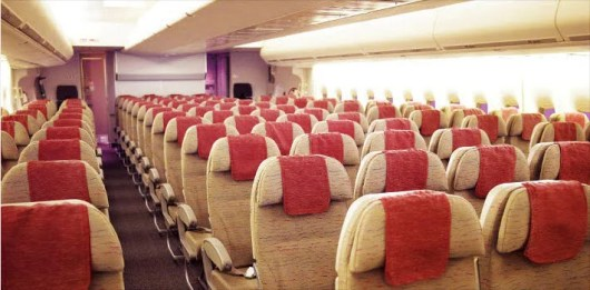 It may not look like much, but Asiana's economy class is quite comfortable